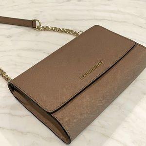 Michale Kors Saffiano Leather 3-in-1 Crossbody